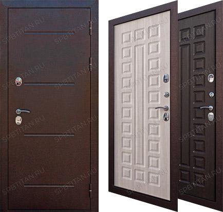 Дверь Цитадель Isoterma 11 см Медный Антик