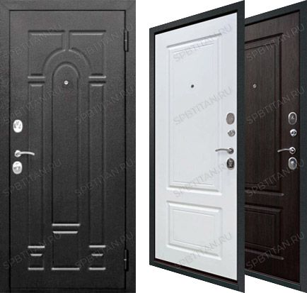 Дверь Цитадель Гарда 7,5 см Серебро Классика