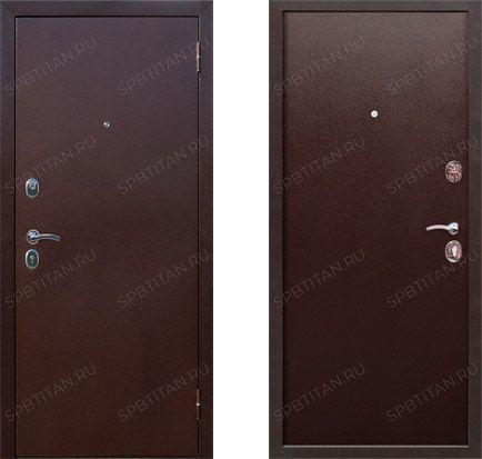 Дверь Цитадель Гарда 7,5 см Мет/Мет