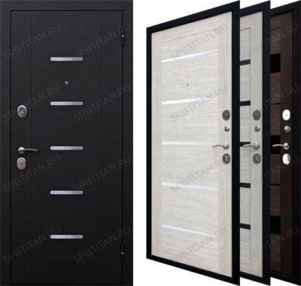 Дверь Цитадель Гарда 7,5 см Муар Царга