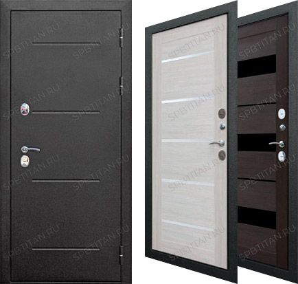 Дверь Цитадель Isoterma 11 см Серебро