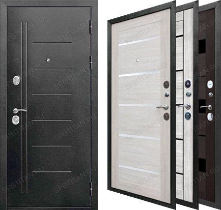 Дверь Цитадель 10 см Троя Серебро